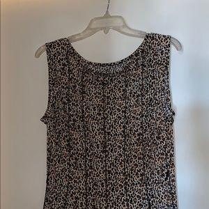 Flowycheetah dress
